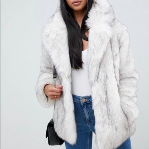 Faux Fur Coat *NEW WITH TAGS*
